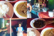 サテ・カンビン山羊の串焼きとスープご飯付き120円#bali #バリ島 #キタナシュラン
