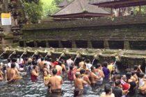筆者的に一番好きなお寺はティルタウンプル寺院(ウブドより30分ほど)バリヒンドゥ教徒が沐浴をしますもちろん外国人も飛び入り参加可能です豊富に湧く聖水で厄除けをして体を清めましょう🙂#bali #バリ島