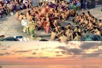 おもてなしバリの人気No1ツアーは「ウルワツのケチャックダンスとジンバランbeachのシーフードディナー」夕暮れのウルワツの崖の上で観るケチャックダンスはバリ島一のケチャックダンスだと思います!ボイスパーカッションの迫力と少しの笑いであっという間の1時間です!#バリ島ガイド #バリ島 #bali