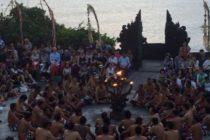 【音量注意】ウルワツ寺院のケチャックダンスです何回見ても面白い!#バリ島 #bali #バリ島ガイド