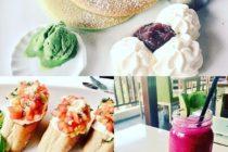 ウブドで人気のカフェ「カキアン・ベーカリー」抹茶あずきのパンケーキやブルスケッタシーフードクラムチャウダーやグラタンなどランチも満足のカフェですいわゆる日式のカレーパンもジューシーでお買い物のついで小腹がすいたら是非寄りたいお店です#バリ島ガイド #バリ島 #bali