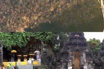 無数のコウモリが生息する謎のお寺「ゴア・ラワ寺院」一説によると山間部にあるパリヒンドゥー総本山のブサキ寺院までこの洞窟で繋がっていると言われています。 #バリ島ガイド  #バリ島  #bali