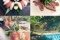 クロボカンの日本レストラン「Dahana」筆者はここのお刺身がバリで一番美味しいと思っております涼しげなプールを眺めながら美味しい和食を楽しめますオススメはお刺身とタタキに天ぷらもひとり予算1500円~です#バリ #バリ島 #bali #バリ島ガイド