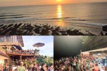 ウルワツにあるSingle Finここはインドネシアですか?と問いたくなるほどの欧米人の数!数!日曜はパーティーモードで深夜1時までの営業サンセットTimeが終わると2階はダンスフロアに早変わりバリでカリフォルニアの気分が味わえちゃう??#おもてなしバリで検索 #バリ島 #bali #バリ