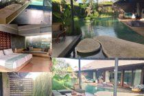なんと素敵な「Villa The Santai」日本のテレビでも取り上げられたそうですこれ池ではありませんよ!プールです!プール!こんな所でその名の通りサンタイ(リラックス)できたら最高のバケーションですね#バリ島ガイド #おもてなしバリで検索 #バリ #bali #バリ島 #villasantai