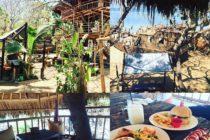 ヌサドゥアの「パイレーツ・ベイ」静かな浜辺の前にあるレストランです木の上の席でのんびりランチがおすすめです野生のリスが走り回っていますお子さんがあそべるエリアもありますよ #おもてなしバリで検索  #バリ島ガイド  #バリ  #bali