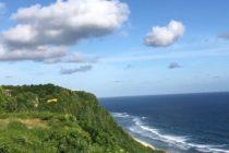 ウンガサンのとある崖の上より…パラセーリングが楽しめます!チャレンジされたい方は是非お問い合わせください#バリ島 #バリ島パラセーリング #バリ #バリ島ガイド