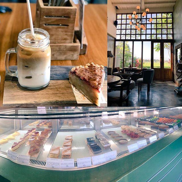 スミニャックのクの「cafe monsieur spoon」スイーツとパンの美味しいカフェエアコンの効いたお席と田んぼを見渡すお席が選べますクロボカンエリアのお買い物に疲れたらこちらでひと休みはいかが?#bali #バリ #バリ島  #balicafe #バリ島旅行 #バリ旅行  #バリ島ガイド #バリ島日本語ガイド #バリ島オプショナルツアー #バリ島オプションツアー #綺麗な日本語の礼儀正しいガイド #バリ島政府公認ツアー会社で安心